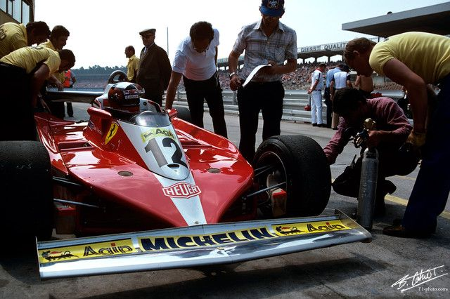 Villeneuve-G 1978 Germany Ferrari 312T3