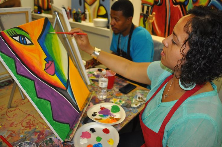 "An ""Open Studio"" art class is available for adults"