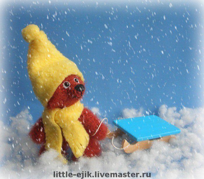 Купить мишка Ванечка - авторская игрушка, вязаные игрушки, игрушки, вязаные…