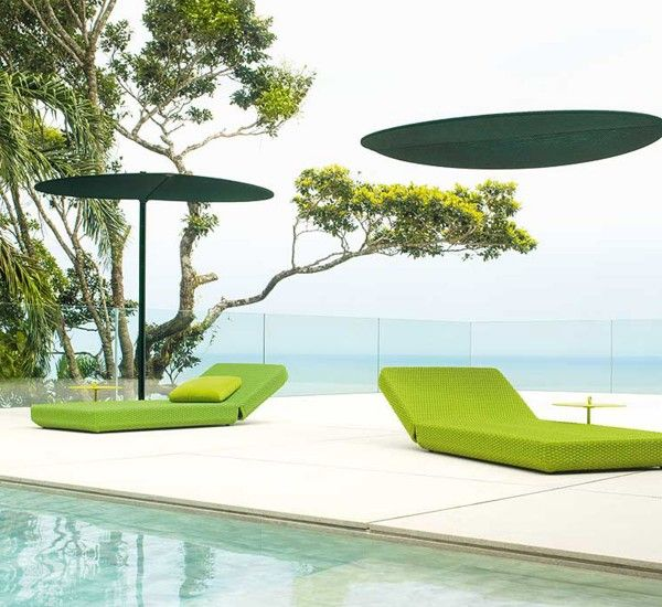 Ombra Is A Sunshade Designed By Bestetti Associati For Paola Lenti. #outdoor