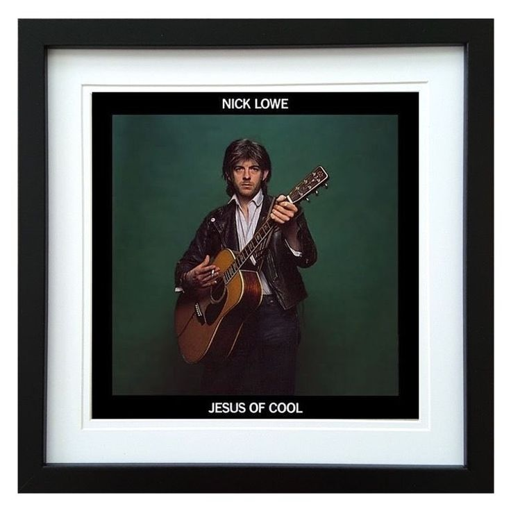 Nick Lowe | Jesus Of Cool Album | ArtRockStore