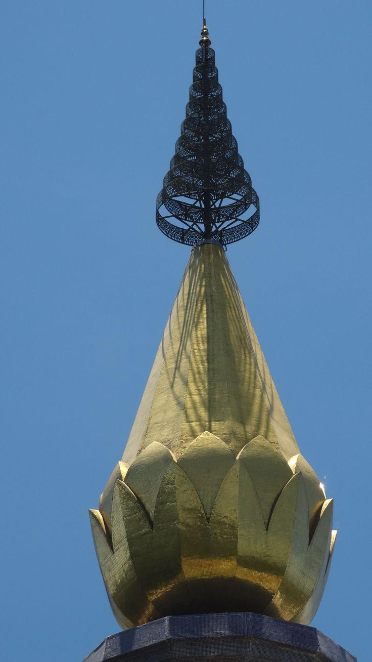 Tip of  the King's Pagoda, Doi Inthanon, Thailand.