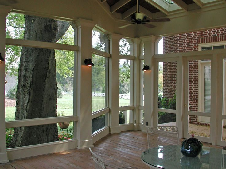 Top 25 ideas about screen porch flooring on pinterest for Indoor outdoor flooring options