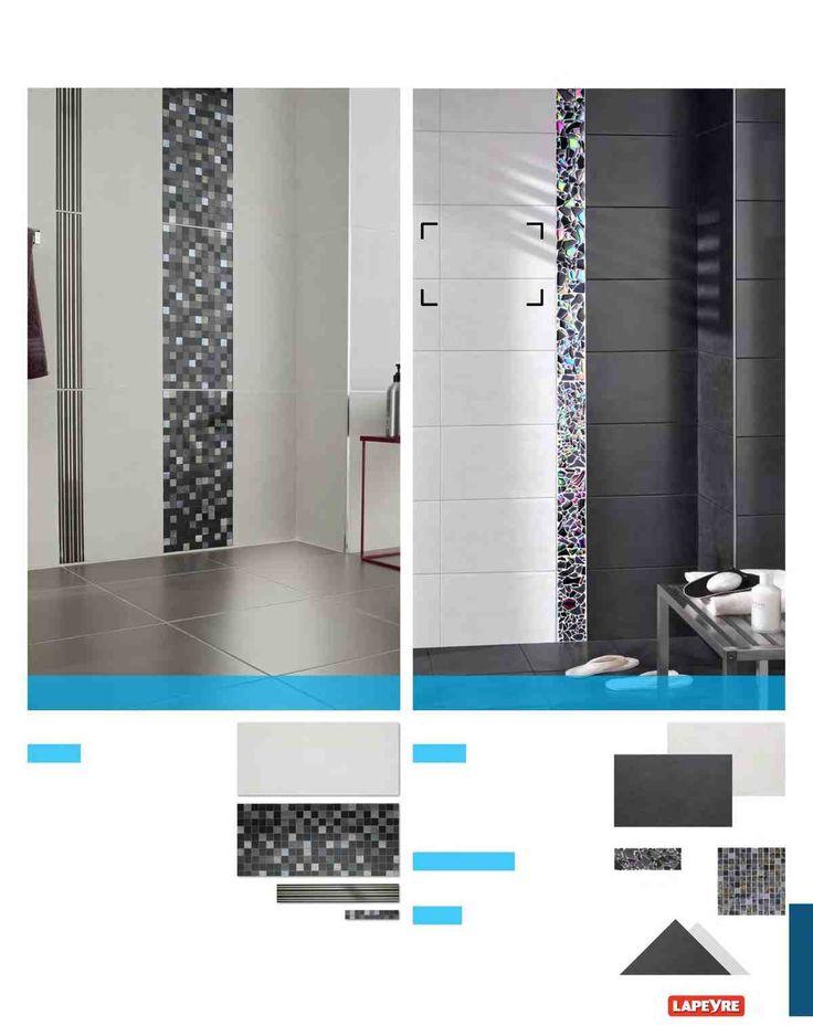 Les 246 meilleures images propos de salle de bain sur pinterest salle de - Faience murale salle de bain lapeyre ...