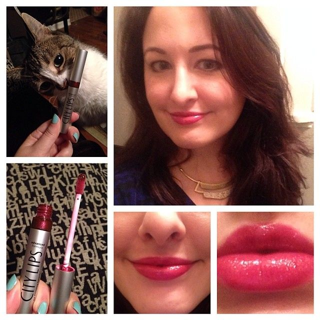 April 23, 2014, 8:00 pm City Lips Sangria Lip Plumper http://www.mybeautybunny.com/city-lips-sangria-lip-plumper/  http://viral-makeovergames.com/confused-beauty-techniques/