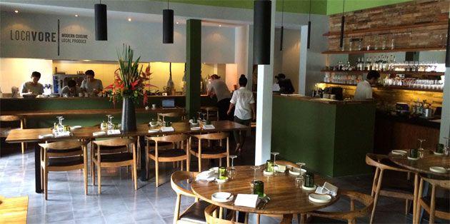 Restaurant Locavore Ubud Bali