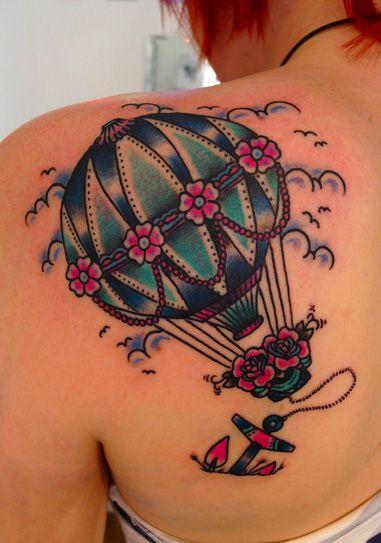 Ballon Tattoo                                                                                                                                                                                 Mais