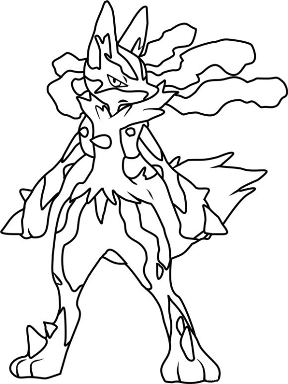 Lucario Coloring Page Pokemon Coloring Pages Pokemon Coloring