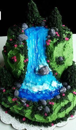 waterval fondant