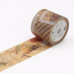 MT Washi Tape fab Wax Paper Collage