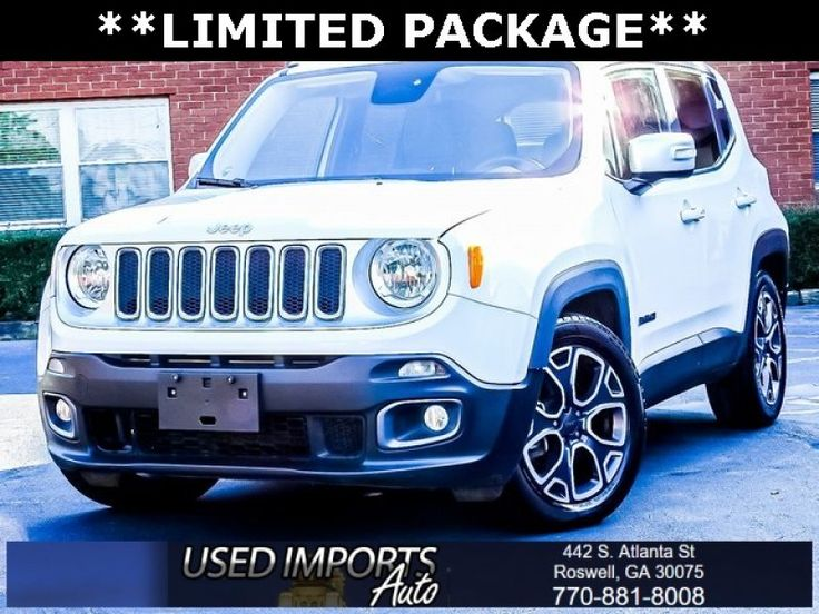 Used 2016 Jeep Renegade FWD Limited for sale in Roswell