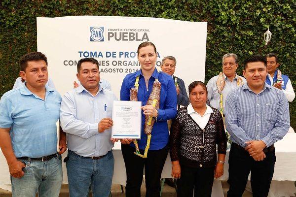 Puertas abiertas a militantes del PAN Puebla: Martha Erika Alonso