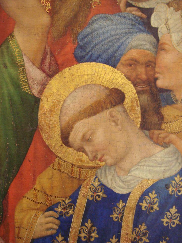 Henri Bellechose Le Retable de Saint Denis 1415 1416 detail