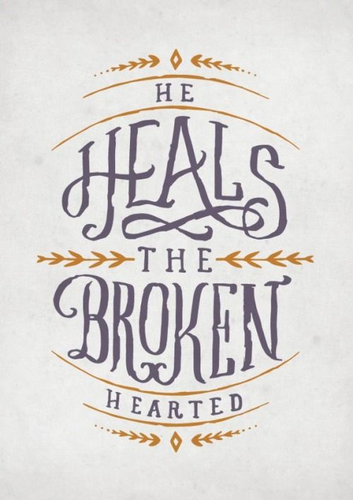 """planstobesurprised: """"And binds up their wounds."""""""