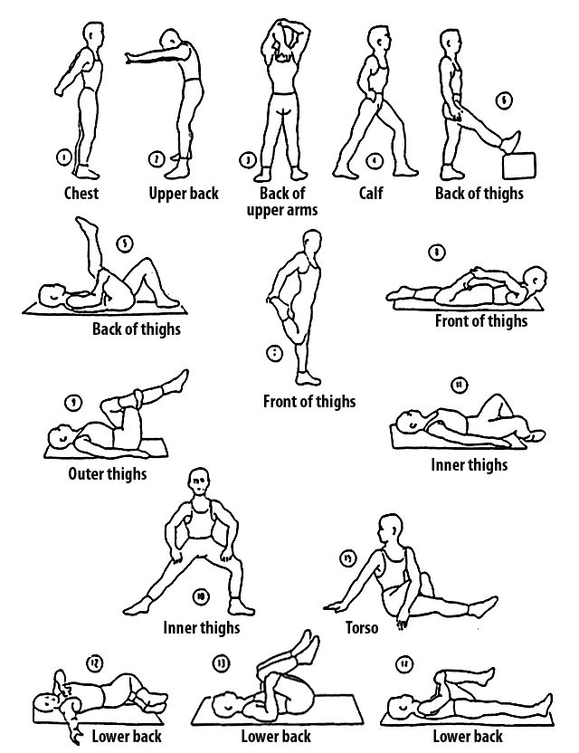 Running Stretches Runners Stretches For Runners And
