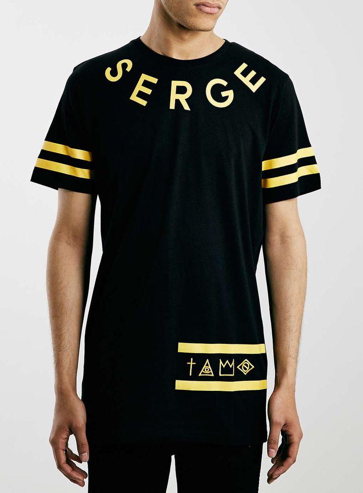 Serge Denimes Black T-shirt*