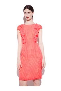 Liana Silk print dress