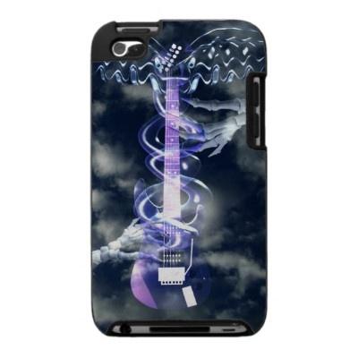 caduceus snakes wrap guitar iPod case
