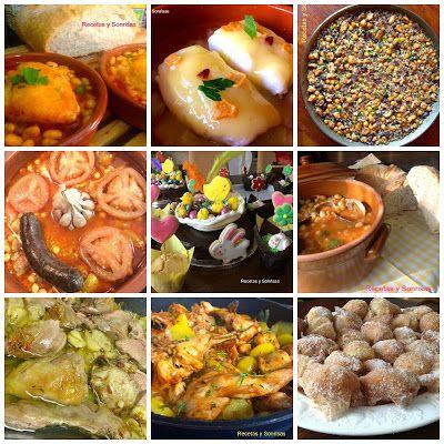 Aquí os traigo mi recopilatorio de recetas para esta Semana Santa. Espero que os guste y sea útil y os deseo unas Felices Pascuas!!!! http://recetasysonrisas.blogspot.com.es/2017/04/recetas-semana-santa-2017.html #receta #semanasanta2017 #semanasanta #cuaresma #arroces #bacalao #buñuelos #pollo #pescado #carne #conejo