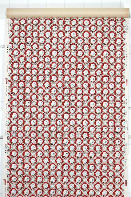 1950s vintage Wallpaper dal cantiere carta da di HannahsTreasures