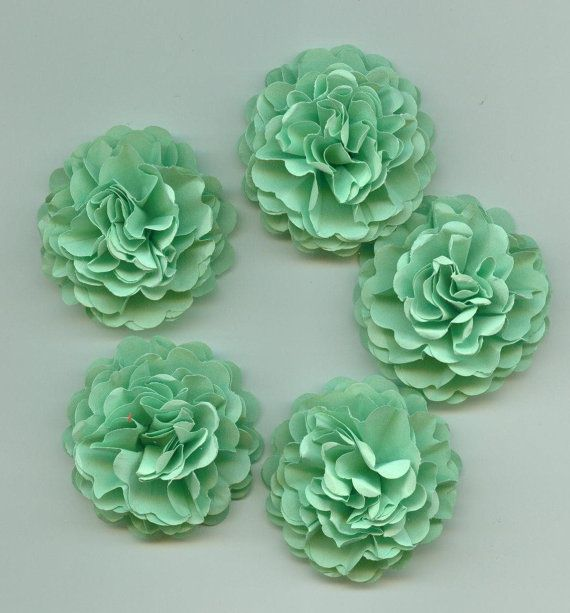 Sea Foam Green Carnation Mini Paper Flowers for Weddings, Bouquets, Events and Crafts on Etsy, $2.96 AUD