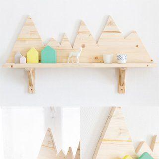 Une étagère montagnes  - Marie Claire Idées