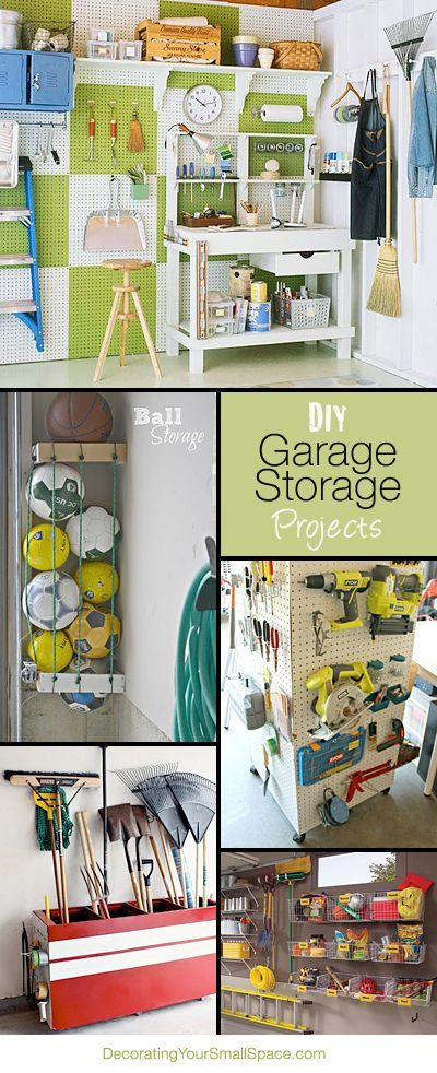 DIY Garage Storage Projects • Lots of ideas & Tutorials!