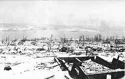 Halifax saw the biggest non-nuclear explosion in history. It occurred in Halifax Harbor on Dec 16, 1917 when the ammo ship Mont Blanc was struck by Dutch relief ship, the Imo. The Imo was steaming at excessive speed & refused to give way. They collided, the ammo ship caught fire & exploded leveling 500 acres, killing 2000 people, and caused a 60 foot tsunami. 1000s were blinded from flying glass. Soon after, a blizzard struck dumping 16 inches of snow. It took 2 years to find the last…