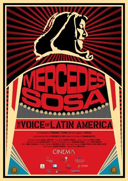 Mercedes Sosa: The Voice of Latin America (Argentine) 11x17 Movie Poster (2014