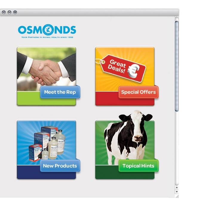 Osmond Ireland On Farm Business Ltd. - Website Buttons