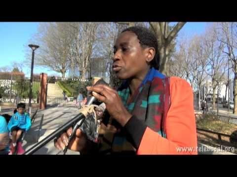 """Télé Bocal / Actu 20ème : Naomie Sadeng, candidate de la liste de mobilisation citoyenne """"Ensemble pour le 20ème"""" aux élections municipales 2014"""