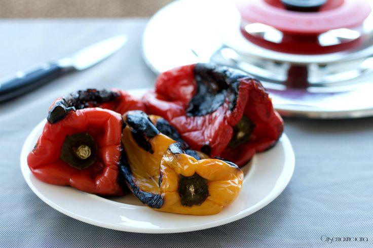 Peperoni arrostiti con il Magic Cooker, ricetta facile