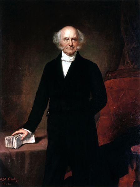 Martin Van Buren The 8th President of the United States. Vice President: Richard Mentor Johnson
