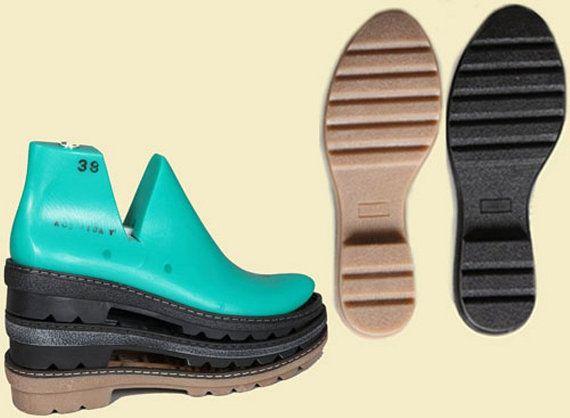 Gummisohlen für gefilzte Schuhe  Winterschuhe von FeltingBottega
