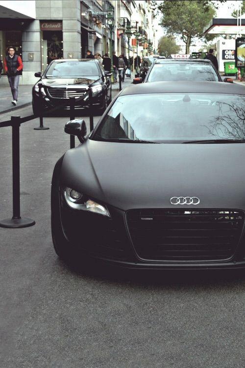 Image via We Heart It https://weheartit.com/entry/130917256/via/5149254 #audi #audir8 #black #boys #car #cute #expensive #fancy #german #girly #luxury #r8 #rich #sportscar