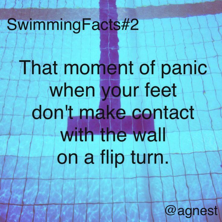 So true today at swim.....dang it how did that wall move!!!!! :)  swimclassjuggler.com