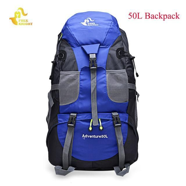 1f6391b59bf8 Free Knight 60L Waterproof Climbing Hiking Backpack Rain Cover Bag 50L  Camping