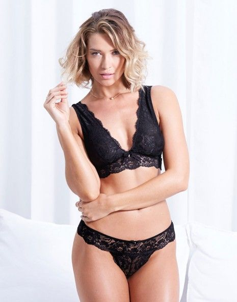 THE BEST Adore Me lingerie yet! Ebony Unlined on AdoreMe