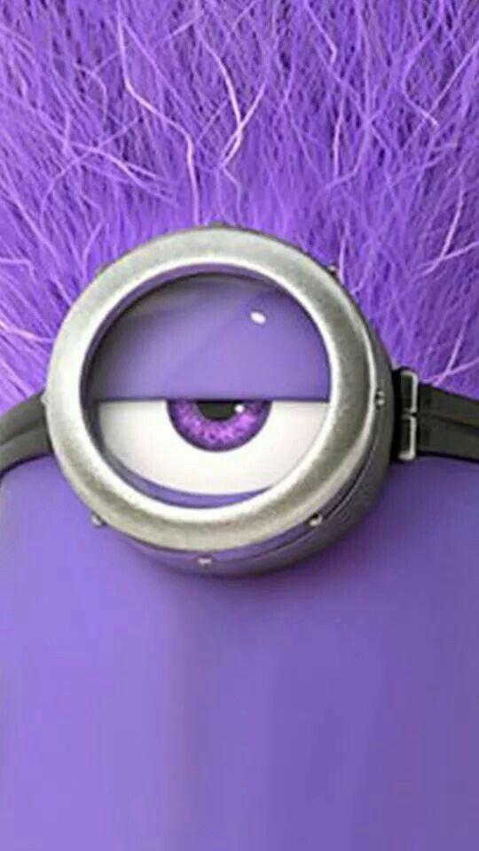 ... Iphone wallpaper minion purple