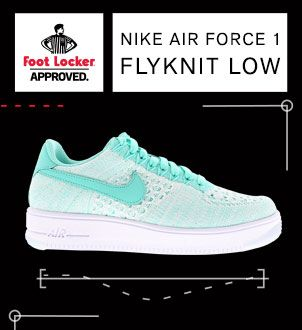 Nike Air Force 1 Flyknit Low - Dames Schoenen (820256-300) @ Foot Locker » Enorm assortiment voor mannen en vrouwen ✔ Veel exclusieve stijlen en kleuren ✔ Gratis verzending ✔