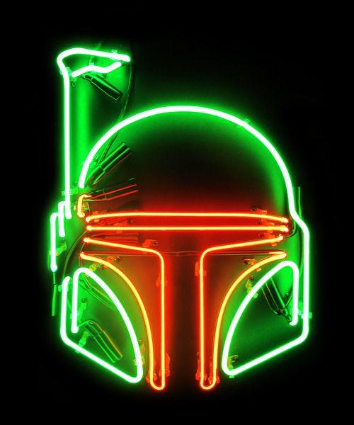 Boba Fett Neon Sign | ---------NEON SIGNS--------- | Star ...