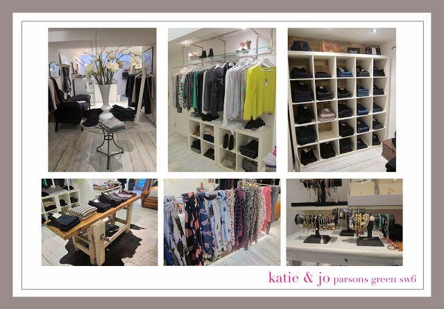 Katie & Jo London boutique in Parsons Green.  Goldsign, Rebecca Taylor, Rag & Bone, Becksondergaard, Skull Cashmere, 360 Sweater, True Grace