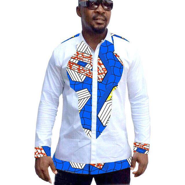 African print mens dashiki shirts custom african clothes fashion shirt men long sleeve shirt of africa clothing