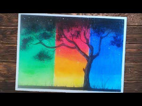 Cara Menggambar Pemandangan Dua Dimensi Untuk Pemula Cara Menggambar Painting Seni