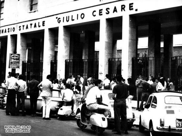 Liceo Giulio Cesare 1978