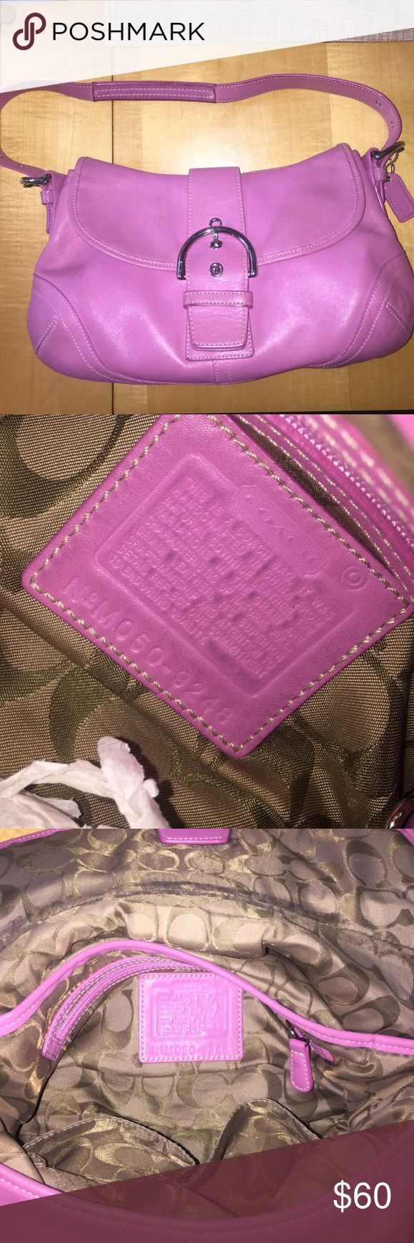 Pink Coach purse!! great condition!! Coach Bags