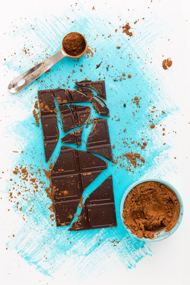 Eating a single serving of dark chocolate when stressed can actually lower your anxiety levels. #partner