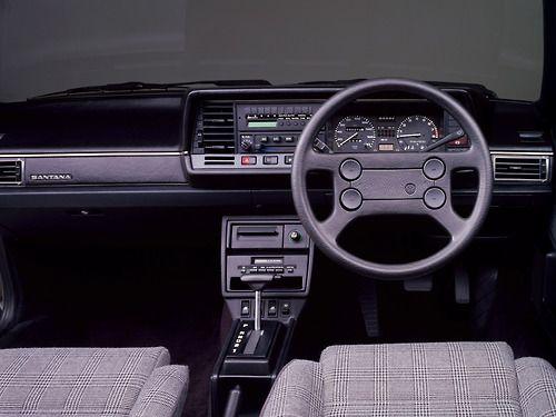 """1988Volkswagen Santana """"Meisterwerk"""" / car interiors"""