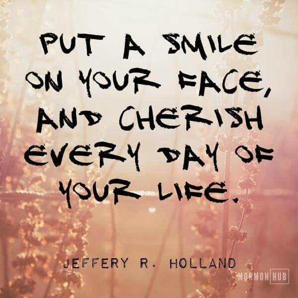 Love this! Cherish every day! :)