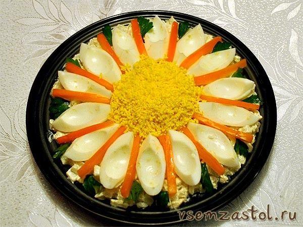 Салат «Цветок»